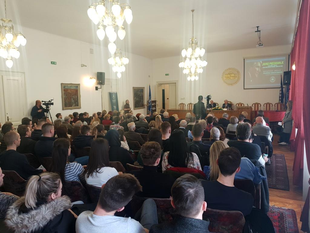 Predavanje akademika Rusmira Mahmutćehajića povodom Dana nezavisnosti Bosne i Hercegovine