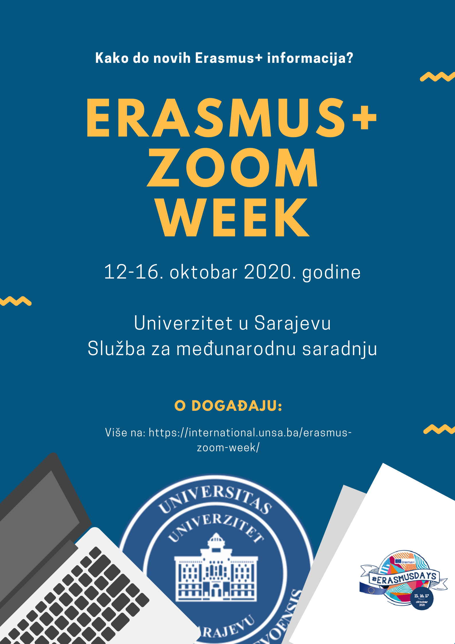 Erasmus+ ZOOM week