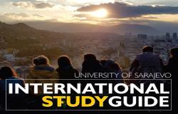 "Univerzitet u Sarajevu predstavlja brošuru ""International Study Guide"""
